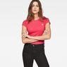 G-Star RAW® Eyben Slim T-Shirt Pink model front
