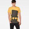 G-Star RAW® 10 T-Shirt Yellow model front