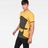 G-Star RAW® 10 T-Shirt Yellow model side