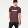G-Star RAW® Holorn T-Shirt Purple model front