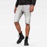 G-Star RAW® Arc 3D 1/2 Shorts Grau front flat