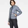 G-Star RAW® Strett Padded Jacket Dark blue model side