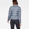 G-Star RAW® Strett Padded Jacket Dark blue model back