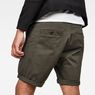 G-Star RAW® Bronson Straight 1\2 Short Grau model back zoom