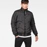 G-Star RAW® Whistler Meefic Quilted Bomber Black model front