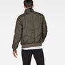 G-Star RAW® Whistler Meefic Quilted Bomber Grau model back