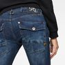 G-Star RAW® 5620 Heritage embro tapered wmn Dark blue