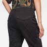 G-Star RAW® Rovic Mid Waist Skinny Cargo Pants Black model back zoom