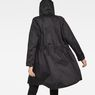 G-Star RAW® H-A Strett Boyfriend Parka Black model back