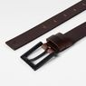 G-Star RAW® Duko Belt Brown front flat