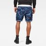 G-Star RAW® Rovic Relaxed 1/2 Shorts Dark blue model back