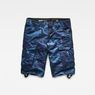 G-Star RAW® Rovic Relaxed 1/2 Shorts Dark blue flat front