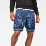 G-Star RAW® Rovic Relaxed 1/2 Shorts Dark blue model front