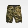 G-Star RAW® Rovic Relaxed 1/2 Shorts Green flat front