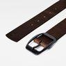 G-Star RAW® Ladd Belt Brown front flat