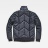 G-Star RAW® Whistler Meefic Quilted Bomber Dark blue flat back
