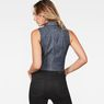 G-Star RAW® Tacoma Knotted Sleeveless Top Grey