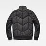 G-Star RAW® Whistler Meefic Quilted Bomber Black flat back