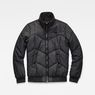 G-Star RAW® Whistler Meefic Quilted Bomber Black flat front
