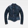 G-Star RAW® Noa Slim Denim Blazer Dark blue flat front