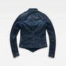 G-Star RAW® Noa Slim Denim Blazer Dark blue flat back