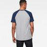 G-Star RAW® Buckston Raglan T-Shirt Grey model back