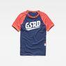 G-Star RAW® Buckston Raglan T-Shirt Dark blue flat front