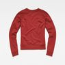 G-Star RAW® Micella Cropped Sweat Red flat back
