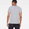 G-Star RAW® Mow Stripe T-Shirt White model back