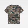 G-Star RAW® Sverre T-Shirt Green flat back