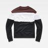 G-Star RAW® Libe Core Sweat Black flat back