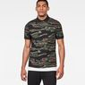 G-Star RAW® Agbay Core Polo Green model front
