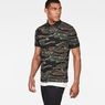 G-Star RAW® Agbay Core Polo Green model side