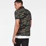 G-Star RAW® Agbay Core Polo Green model back
