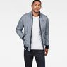 G-Star RAW® Whistler Meefic Quilted Bomber Dark blue model front
