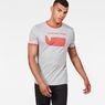 G-Star RAW® Seii Ringer Slim T-Shirt Grey model front