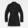 G-Star RAW® Minor Slim Trench Black flat back
