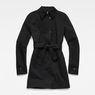 G-Star RAW® Minor Slim Trench Black flat front