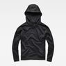 G-Star RAW® Motac-X Oversized Hooded Sweater Black flat front