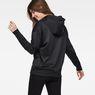 G-Star RAW® Motac-X Oversized Hooded Sweater Black model back