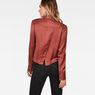 G-Star RAW® Vodan Dc Cropped Open Back Shirt Brown