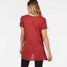 G-Star RAW® Rovi Knotted T-Shirt Red model back