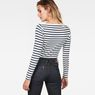 G-Star RAW® Zovas Slim Boatneck model back