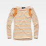 G-Star RAW® Zovas Slim Boatneck Orange flat front