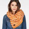 G-Star RAW® Dorala Stripe Scarf Orange