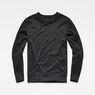 G-Star RAW® Motac Dc Slim R Sweat Black flat front