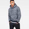 G-Star RAW® Siringo Stor Hooded Sweat Dark blue model front