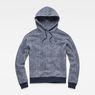 G-Star RAW® Siringo Stor Hooded Sweat Dark blue flat front