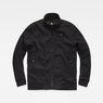 G-Star RAW® Deline Track Overshirt Black flat front
