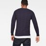 G-Star RAW® Suzaki Moto Knit Dark blue model back